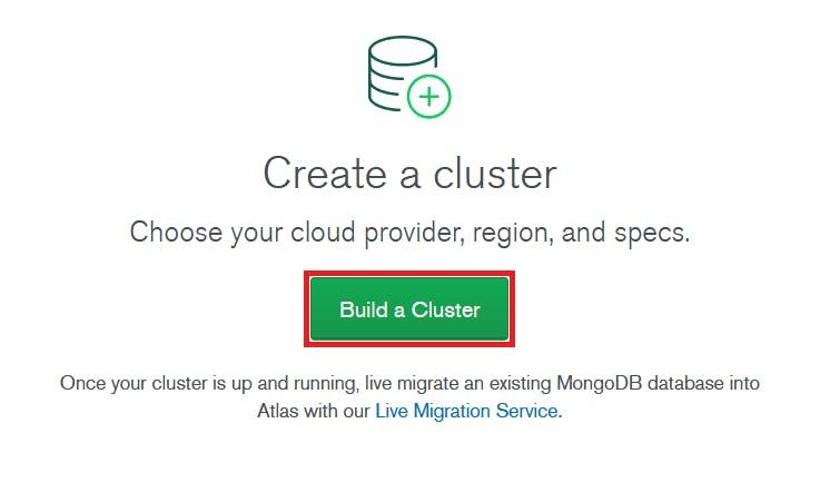 build a mongodb cluster on google cloud
