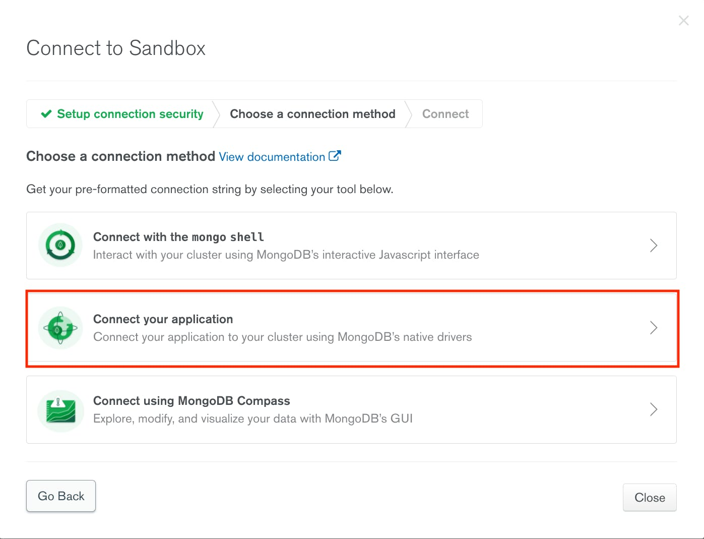 mongodb .net screenshot