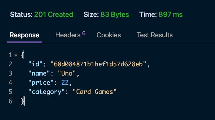 mongodb .net screenshot- create