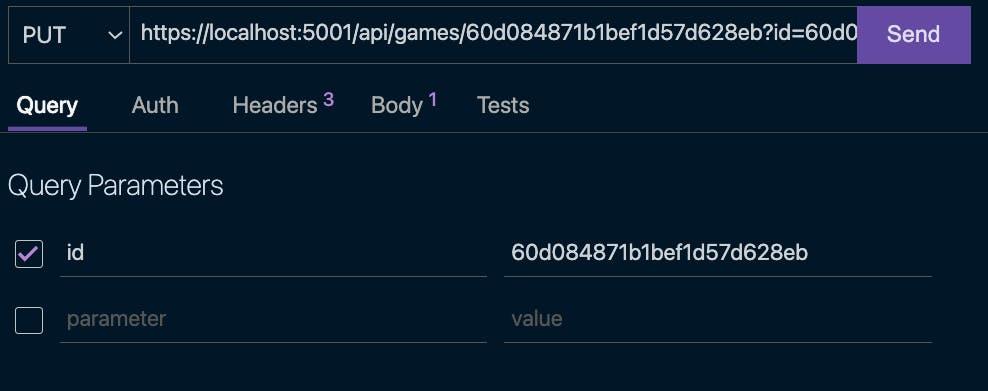 mongodb .net screenshot- update